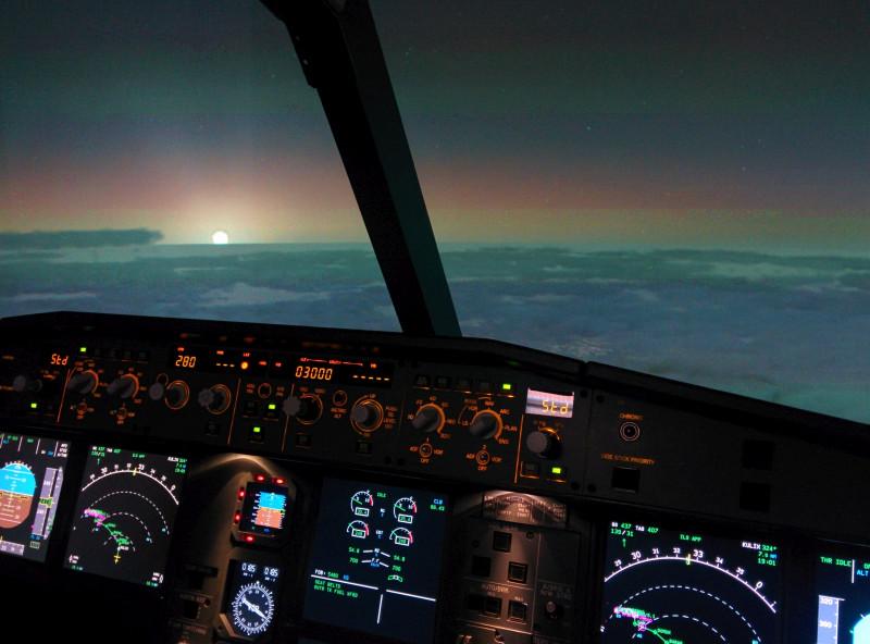 Flugsimulator Düren Abenteuerpaket