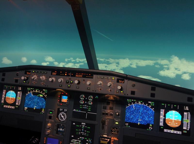 Flugsimulator Düren Kurzstreckenpaket